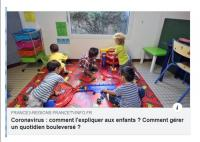 Expliquer le CORONAVIRUS aux enfants: Bénédicte RONDEAU vous conseille